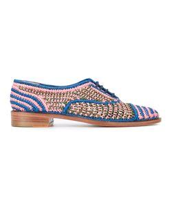 Robert Clergerie | Плетеные Ботинки На Шнуровке
