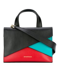 Emporio Armani | Colour Block Tote Leather/Cotton