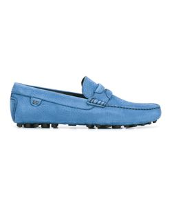 Dolce & Gabbana | Textu Loafers 40 Calf Leather/Rubber/Leather