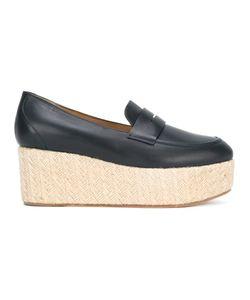 Gabriela Hearst   Platform Penny Loafers Size 37.5