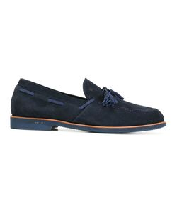 Fratelli Rossetti | Tassel Detail Loafers 7 Suede/Leather/Rubber
