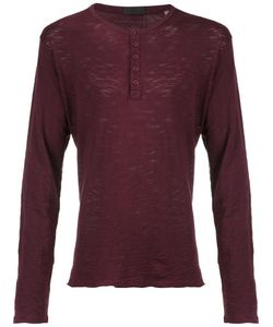 ATM Anthony Thomas Melillo | Henley T-Shirt Small Cotton