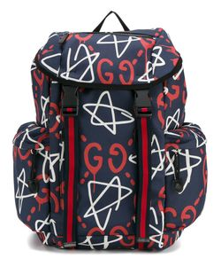 Gucci | Ghost Logo Backpack Polyester