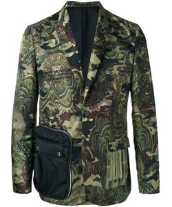 Givenchy | Camouflage Print Blazer 50