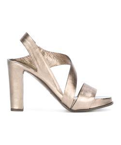 Roberto Del Carlo | Block Heel Sandals 39 Calf