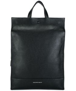 Alexander McQueen | Leather Backpack Leather/Cotton