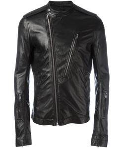 Rick Owens | Cyclop Biker Jacket 54 Sheep Skin/Shearling/Cupro/Cotton