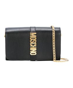 Moschino | Letters Clutch Calf Leather