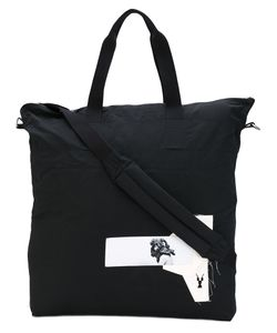 RICK OWENS DRKSHDW   Patches Shopping Bag