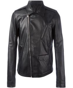 Rick Owens | Stooges Biker Jacket 48 Goat Skin/Cupro/Cotton