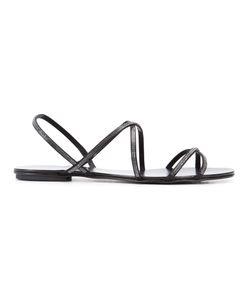 Pedro García   Pedro Garcia Esme Swarovski Crystal Sandals Size 6