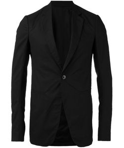 Rick Owens | One Button Blazer 48 Cotton