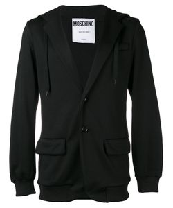 Moschino | Hooded Logo Blazer Size Xl