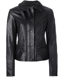 Belstaff | Jacket With Quilted Collar And Biker Detail 40