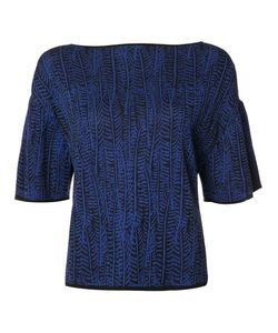 Maison Ullens | Boat-Neck Knitted Top Small Cotton/Polyamide