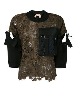 No21 | Studded Pocket Embroidered Top