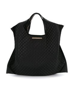 Xaa | Quilted Tote Bag Silk Satin