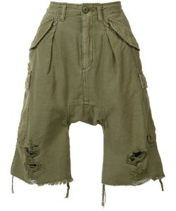R13 | Distressed Cargo Shorts 25