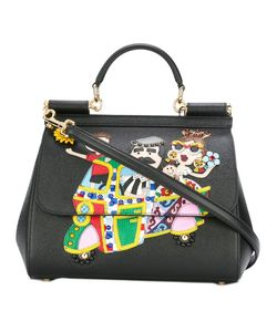 Dolce & Gabbana | Dg Family Patch Sicily Tote Leather/Calf