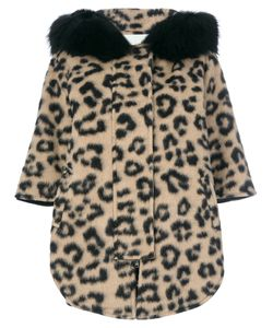AVA ADORE | Cheetah Hooded Coat Women