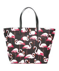 Red Valentino | Flamingos Tote Bag Leather/Cotton