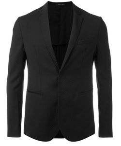 Emporio Armani | Concealed Button Blazer Size 56