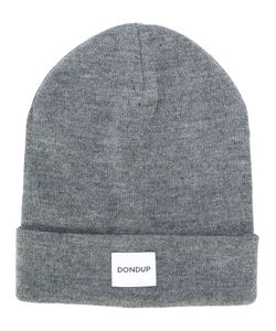 Dondup | Logo Patch Knitted Beanie Men