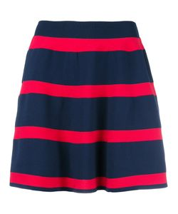 Emporio Armani | Striped Skirt 40 Polyamide