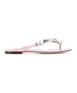 Dolce & Gabbana | Сандалии Bejeweled
