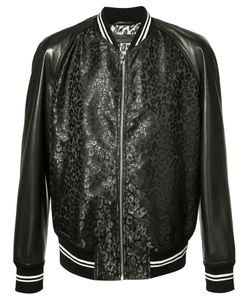 Alexander McQueen | Leather-Panelled Bomber Jacket Size 54