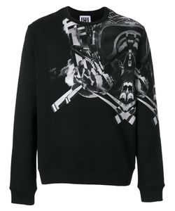 Les Hommes Urban | Symmetry Print Sweatshirt Men