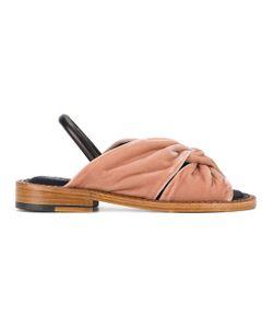 Robert Clergerie | Bloss Crossover Strap Sandals