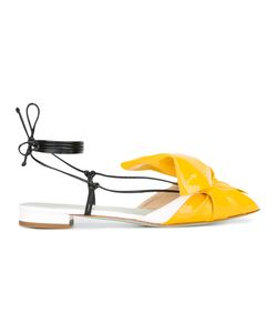 GIANNICO | Julienne Mules 36 Patent Leather/Leather