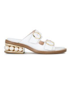 Nicholas Kirkwood | 35mm Casati Pearl Sandals Size 35 Nappa