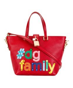 Dolce & Gabbana | Dolce Shopper Tote Calf Leather/Metal/Cotton