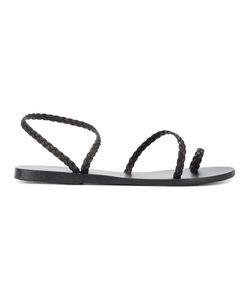 ANCIENT GREEK SANDALS | Braided Eleftheria Strappy Sandals 37