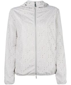Emporio Armani | Cut-Out Detail Hooded Jacket 40 Polyester