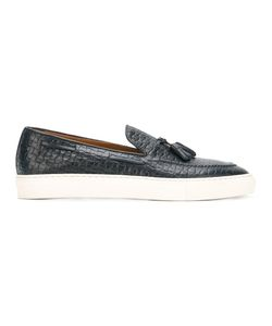 Doucal's | Woven Boat Shoes 40 Leather/Rubber