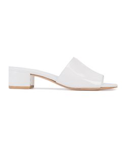 Maryam Nassir Zadeh | Sophie Slider Sandals 36 Patent