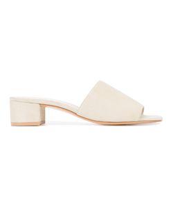 Maryam Nassir Zadeh | Sophie Slider Sandals 38 Suede/Leather