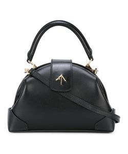 Manu Atelier | Demi Frame Crossbody Bag Leather