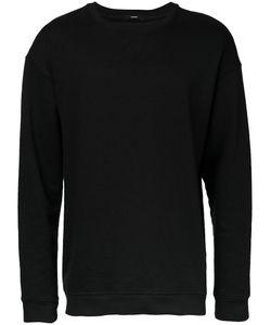 Bassike | Curved Sweatshirt Medium Cotton