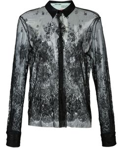 OFF-WHITE | Lace Detail Shirt M