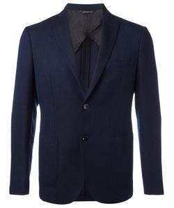 Tonello | Notched Lapel Blazer 46 Silk/Cupro/Mohair/Wool