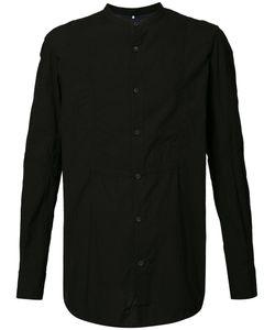 ZIGGY CHEN | Band Collar Shirt 46 Cotton