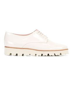 Pretty Loafers | Lace-Up Brogues 37 Leather/Patent Leather/Rubber