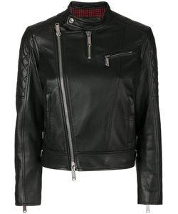 Dsquared2 | Байкерская Куртка Без Воротника