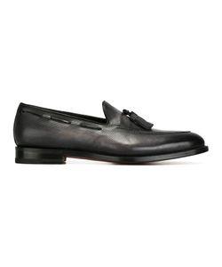 Santoni | Tassel Loafers 10 Leather