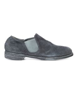GUIDI | Distressed Slippers Size 39