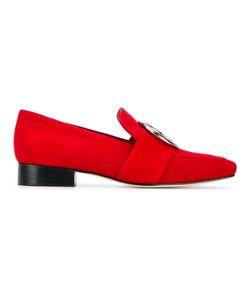 DORATEYMUR   Harput Suede Loafers 36 Suede/Leather/Metal